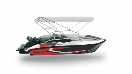 2019 Sealver Wave Boat 444 Black Wake