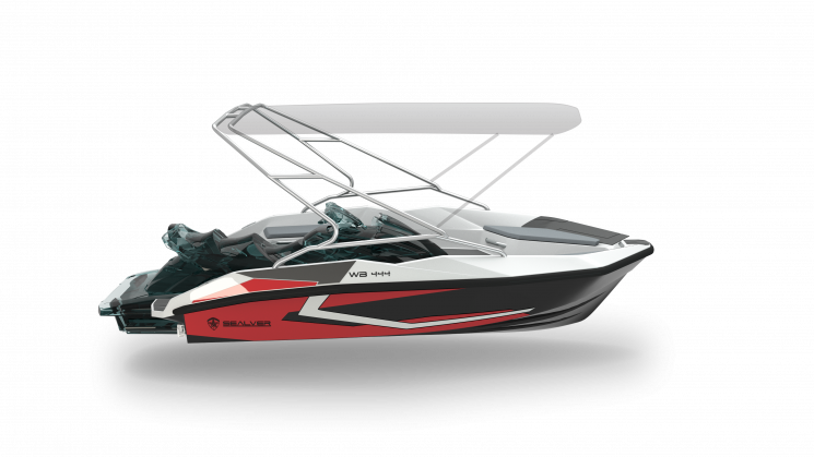 Sealver Wave Boat 444 Black Wake 2019