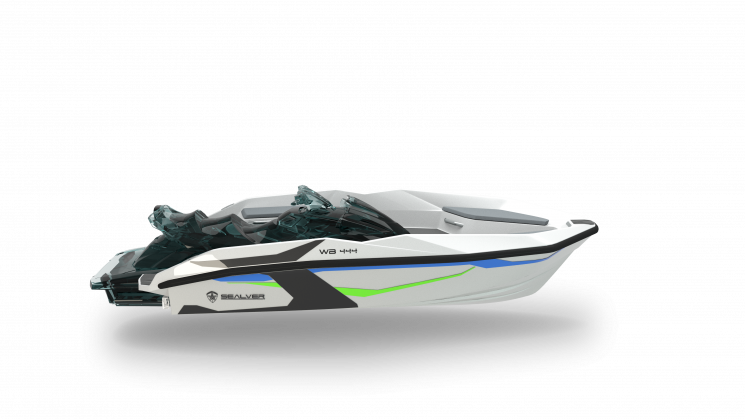 Sealver Wave Boat 444 White Sharp 2018