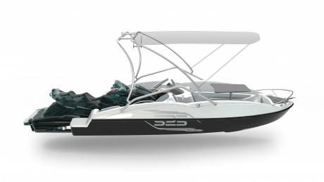 2020 Sealver Wave Boat 525 Full Wake