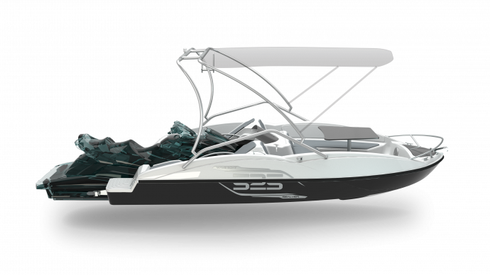 2019 Sealver Wave Boat 525 Full Wake