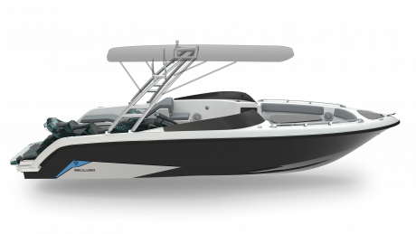 2019 Sealver Wave Boat 656 Full Wake