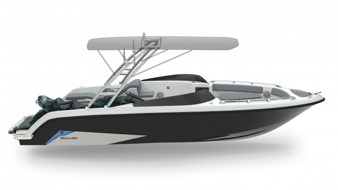 Sealver Wave Boat 656 Full Wake 2019