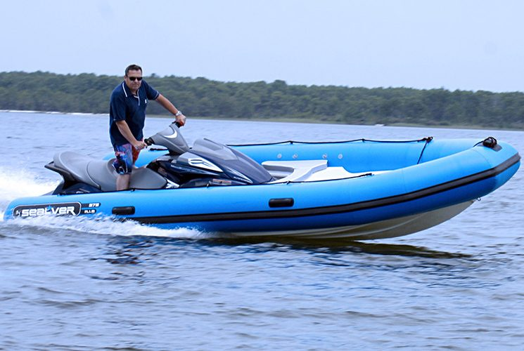 The WB 575, a functional and powerful watercraft extension